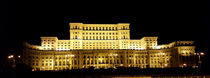 The Palace of the Parliament at night, Bucharest, Romania. by ambasador