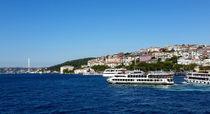 Panoramic view from Topkapi palace on Bosporus von ambasador