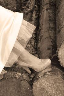 Brautschuh von Daiana Hahn