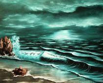 Twilight at Sea von lia-van-elffenbrinck