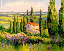 House in Provence von Olha Darchuk