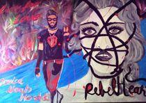 Rebelheart - Madonna - Livingforlove von Jovica Noah Kostic