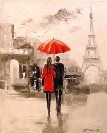 Walk through Paris by Olha Darchuk
