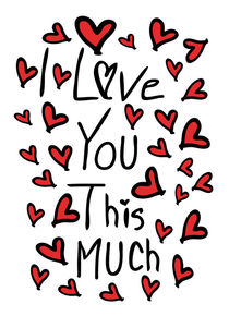 I love you this much von Cindy Shim