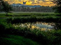 Mount Mansfield Sunrise by James Aiken