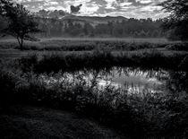 Mount Mansfield Sunrise - BW by James Aiken