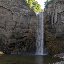 Taughannock Falls Ithaca NY by Manfred Schreyer