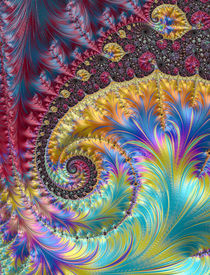 Colorful Wave by Elisabeth  Lucas