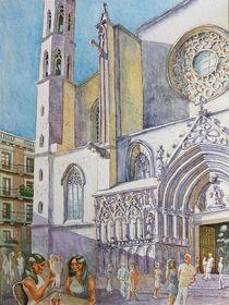 Santa Maria Del Mar, Barcelona by Ronald Kötteritzsch