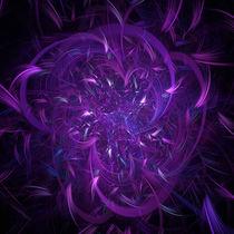 Purple Jewel Expolosion von Elisabeth  Lucas