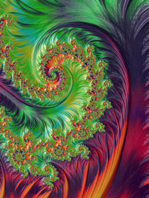 Luminous Summer Spiral von Elisabeth  Lucas