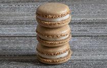 Stacked Vanilla Macarons von Elisabeth  Lucas