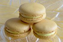 Mango Macarons von Elisabeth  Lucas