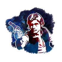 Han Solo Graphic  by zoppy