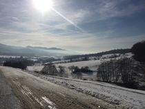 Schneelandschaft mit Blick nach Staufen von lisa-melsio