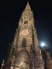 Freiburger Münster an Heilig Abend von lisa-melsio