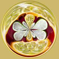 Kiwano and Lime Orb von Elisabeth  Lucas
