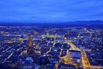 Blaues Freiburg by Patrick Lohmüller
