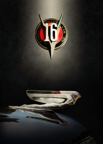 Cadillac hood ornament by Carlos Enrique Duka