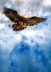 Flying eagle von Carlos Enrique Duka