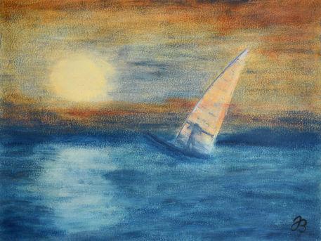 Jb580502-horizont-windsurfer-wachssalbe-malerei
