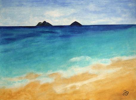 Jb580503-horizont-hawaii-wachs-malerei