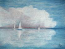Weiße Wolke von Jutta Blühberger