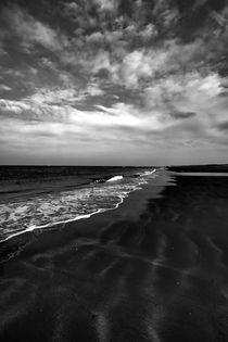 Noth Sea beach Belgium landscape by Michel Godfroid