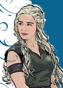 Daenerys Targaryen by Nikita Abakumov