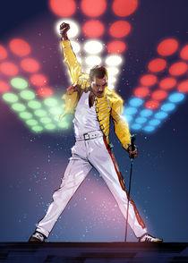 Freddie Mercury by Nikita Abakumov