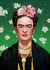 Frida Kahlo von Nikita Abakumov