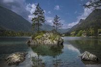 Spiegelung im Wasser von Thomas Schulz