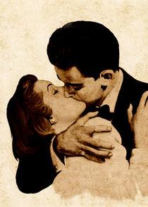 Kiss Vintage Romance von bluedarkart-lem