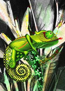 Chameleon Art Fantasy von bluedarkart-lem
