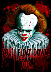 The Dancing Clown - Pennywise IT - Vector - Stephen King Character  von bluedarkart-lem