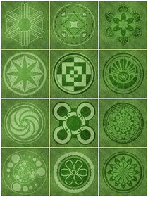 Crop circles von William Rossin