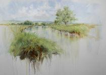 Sommertag-ruhiger Fluss von Helen Lundquist