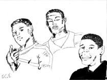 Cool Crew in Ink von Joel Furches