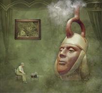 Beim Tee im grünen Salon by garrulus-glandarius