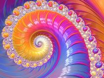 Happy Fantasy Spiral by Elisabeth  Lucas