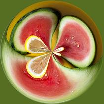 Watermelon and Lemon Orb 1 von Elisabeth  Lucas