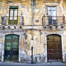 Verlassene Sizilianische Hausfassade von captainsilva