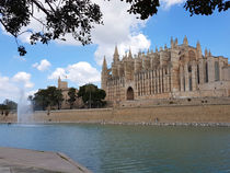 Palma - Mallorca - Die Kathedrale by wirmallorca