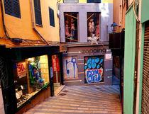 Die engen Gassen der Altstadt von Palma de Mallorca von wirmallorca