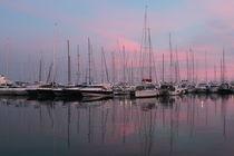 Abends am Hafen von Palma de Mallorca by wirmallorca