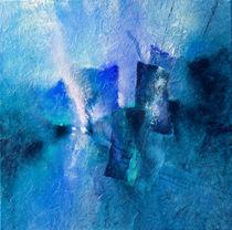 Blau und violett by Annette Schmucker