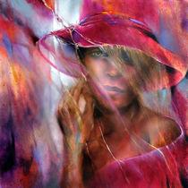 Ella mit Hut von Annette Schmucker