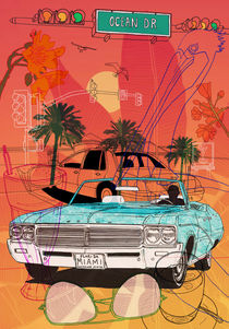 Miami Vibes by David Bushell