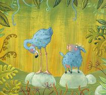 Fühlinchen und Flamingo von Annette Swoboda