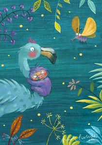 """""""Fühlinchen"""" Flamingo und Faultier von Annette Swoboda"""